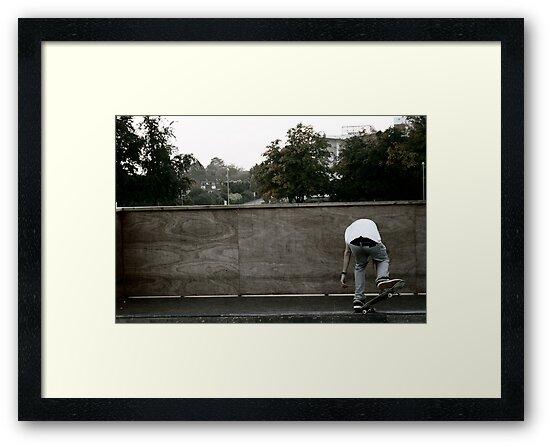 Skateboarding Contrast by Jack Bailey