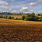 Footpath to Kersey by Geoff Carpenter