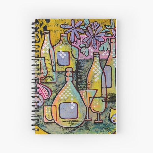 Nice Day 3, still life Spiral Notebook