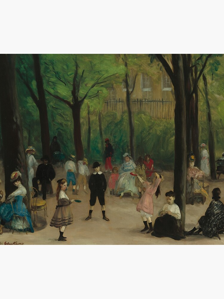 Luxembourg Gardens Oil Painting by William James Glackens by podartist