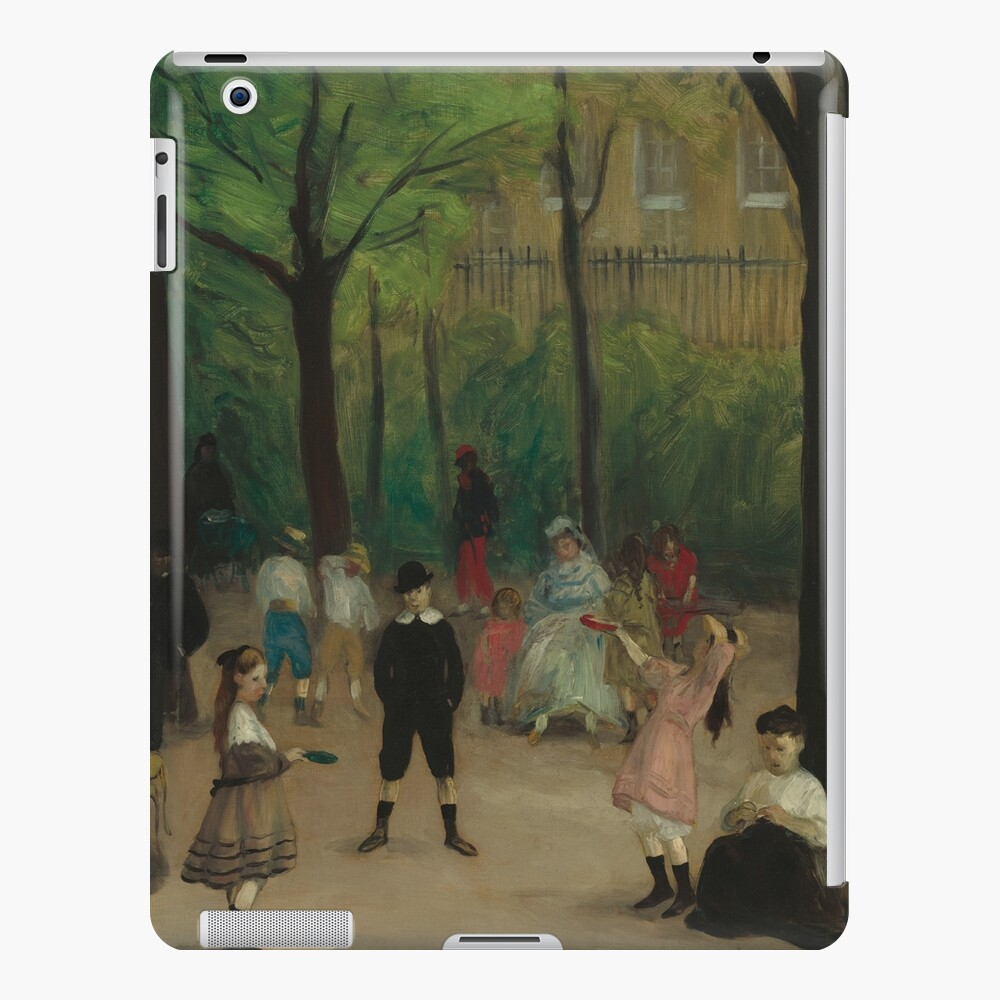 Luxembourg Gardens Oil Painting by William James Glackens iPad Case & Skin
