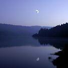 Talybont before dark by David Meacham