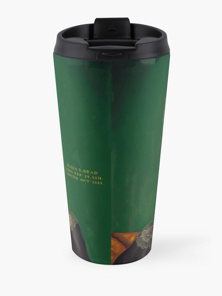 Alternate view of Eliza R. Read Oil Painting by Royall Brewster Smith Travel Mug