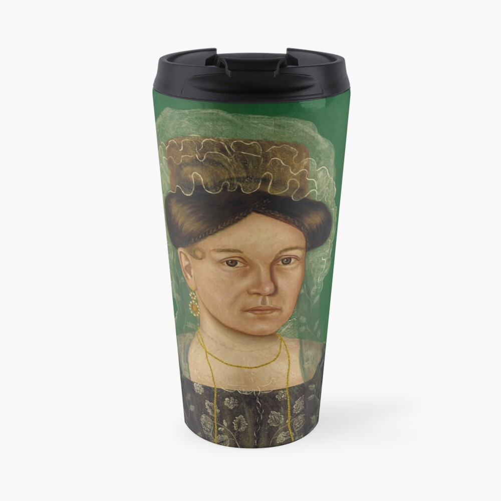 Eliza R. Read Oil Painting by Royall Brewster Smith Travel Mug