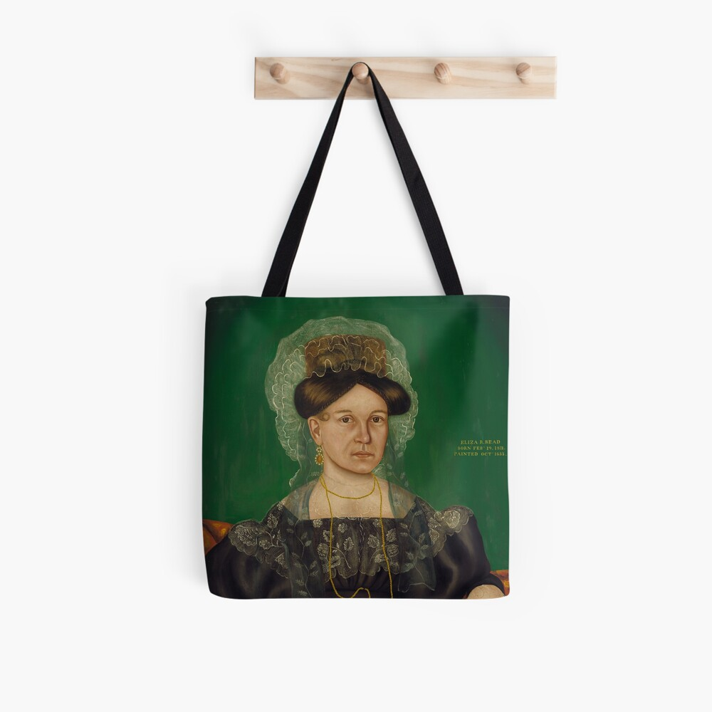 Eliza R. Read Oil Painting by Royall Brewster Smith Tote Bag