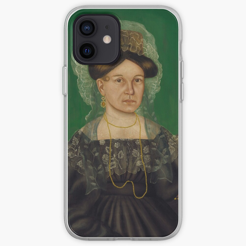 Eliza R. Read Oil Painting by Royall Brewster Smith iPhone Case & Cover