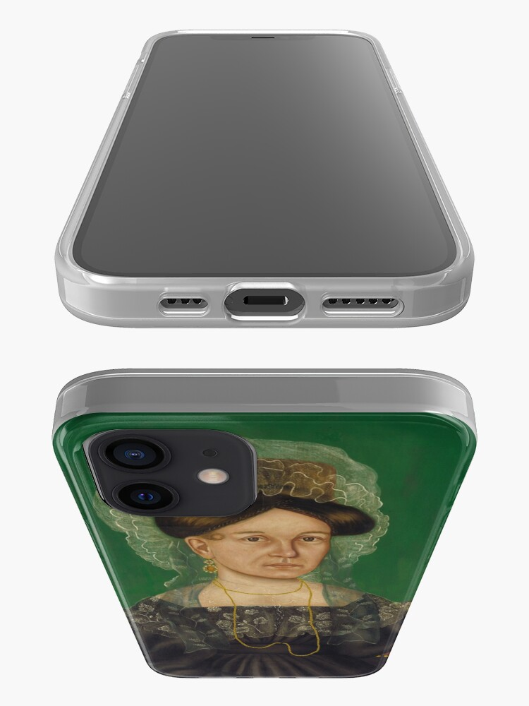 Alternate view of Eliza R. Read Oil Painting by Royall Brewster Smith iPhone Case & Cover