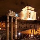 Rome in Night by Sunil Bhardwaj