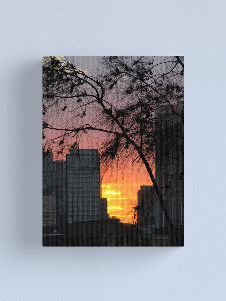 Alternate view of Sydney Sunset Canvas Print