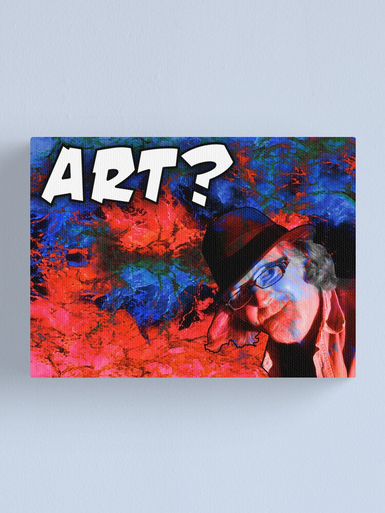 Alternate view of Is This Art? Canvas Print