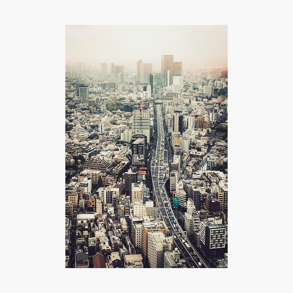 Von Shibuya nach Roppongi Fotodruck