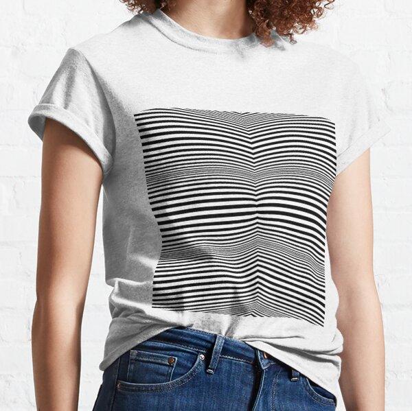 #OpArt, #visual #illusion, #VisualArt, opticalart, opticalillusion, opticalillusionart, opticalartillusion, psyhodelic, psichodelic, psyhodelicart Classic T-Shirt
