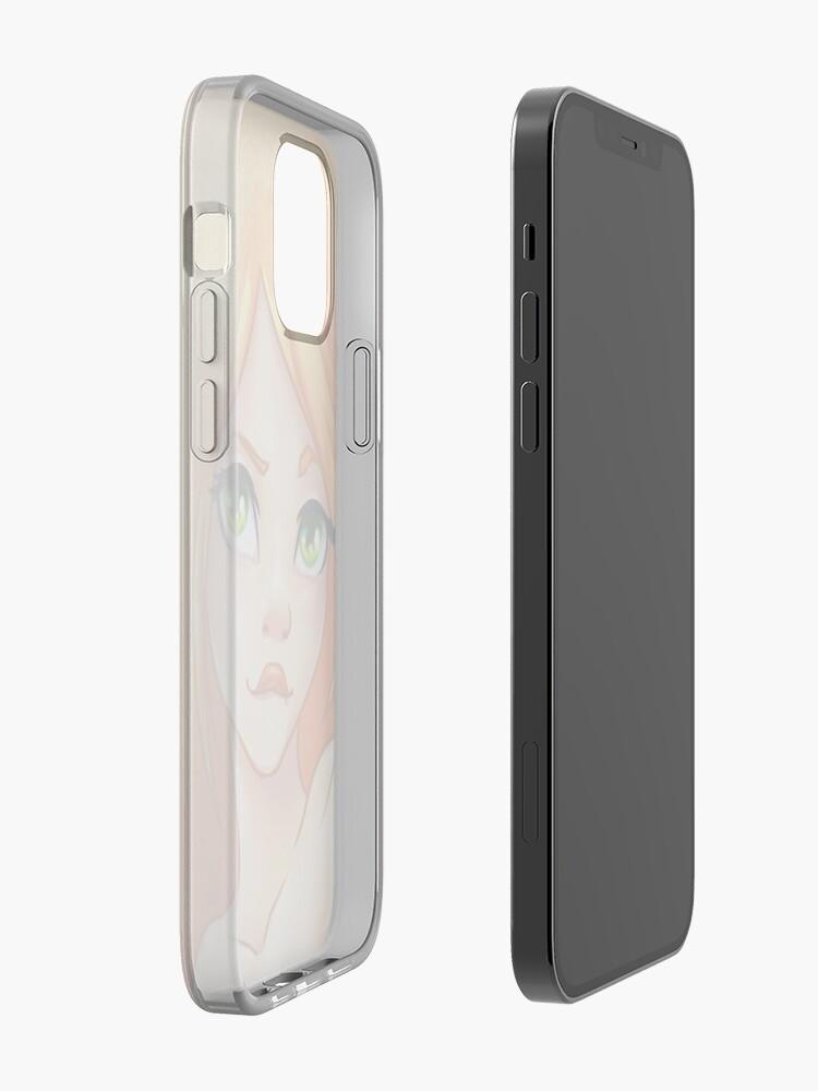 Alternate view of Orange Girl iPhone Case & Cover
