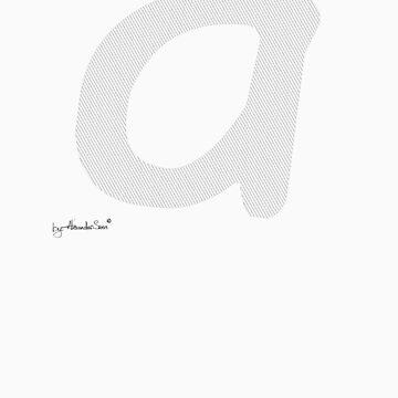 Letter A by alexandersuen