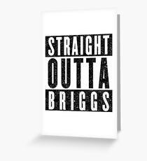 Alchemist with Attitude: Briggs Greeting Card
