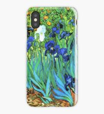 Van Gogh HDR Garden Irises iPhone Case/Skin