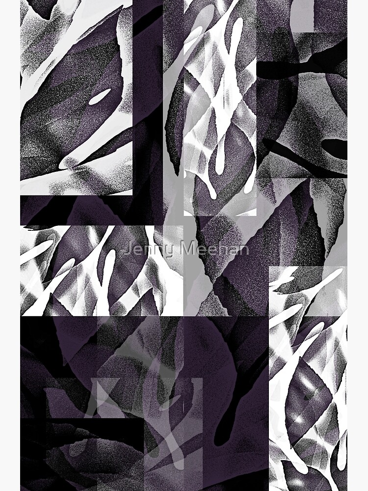 Fatsia Japonica Abstract by Jenny Meehan  by jennyjimjams