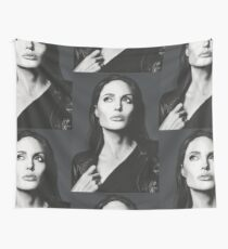 Angelina Jolie Wall Tapestry