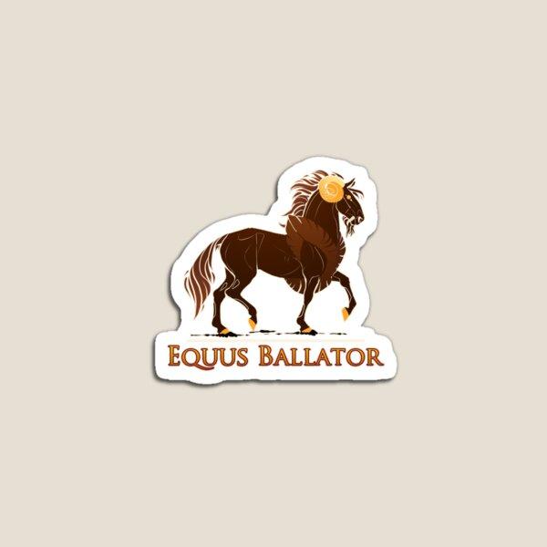 EquusBallator Logo Stickers Magnet