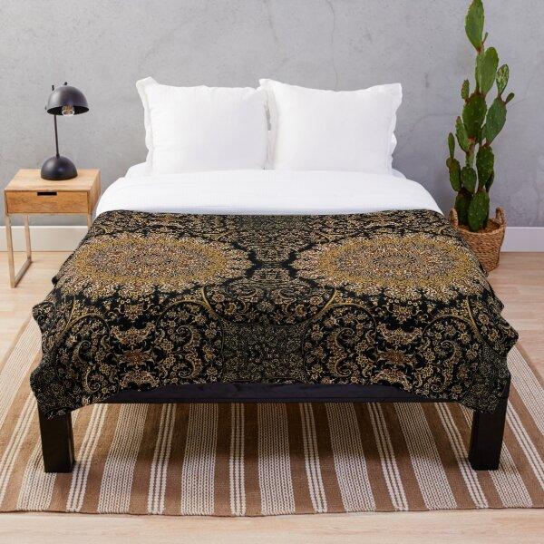 Royal Palace Persian rug  Throw Blanket