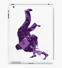 Judo Throw in Gi Purple  iPad Case/Skin