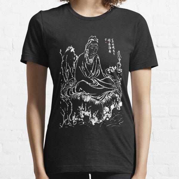 Buddha Avalokiteshvara Goddess Of Mercy Zen Art Meditation Essential T-Shirt