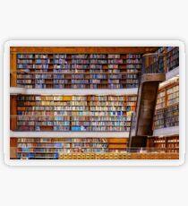Pegatina transparente Biblioteca