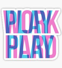 WORK PLAY Sticker