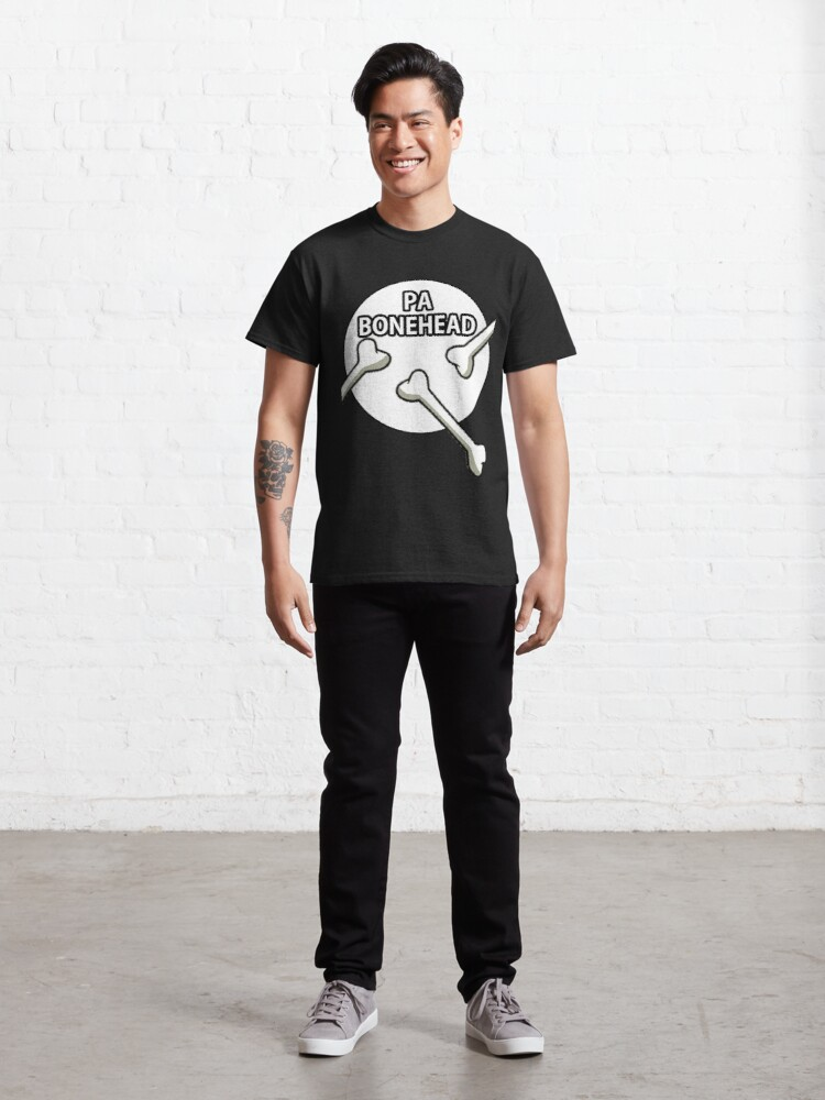 Alternate view of Pa Bonehead Design  Classic T-Shirt