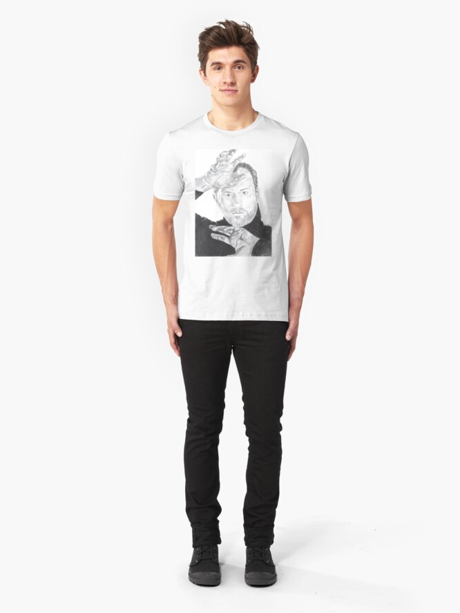 Alternative Ansicht von Mark Gatiss Slim Fit T-Shirt