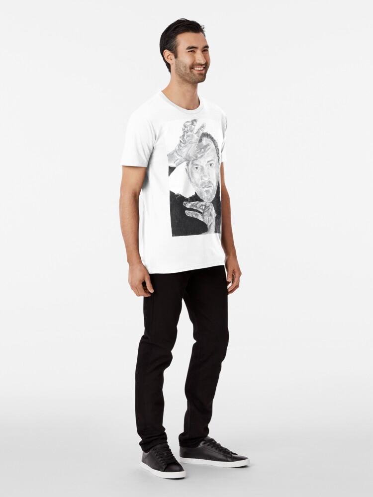 Alternative Ansicht von Mark Gatiss Premium T-Shirt