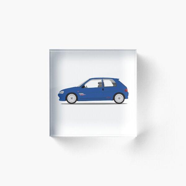Peugeot 106 Rallye Acrylic Block