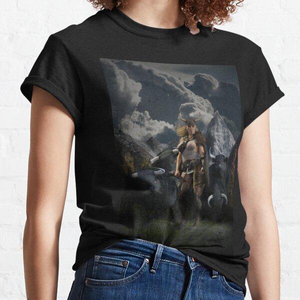 Gefjon - The Viking God Classic T-Shirt