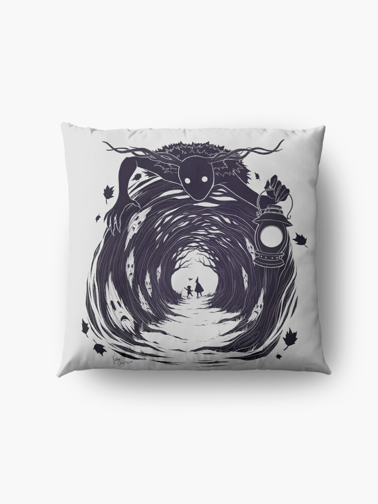 Alternate view of OtGW: If You Go into the Woods at Night... Floor Pillow