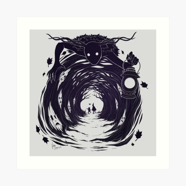 OtGW: If You Go into the Woods at Night... Art Print