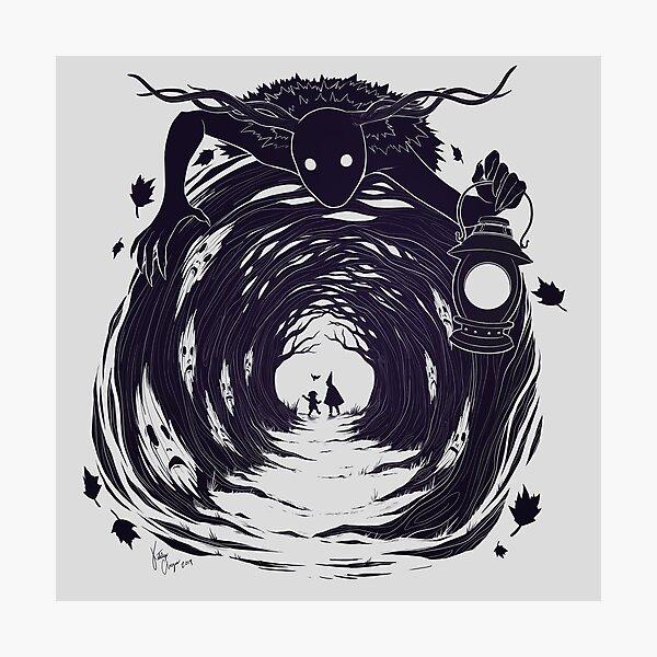OtGW: Wenn du nachts in den Wald gehst ... Fotodruck