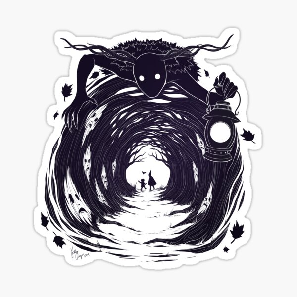 OtGW: If You Go into the Woods at Night... Sticker