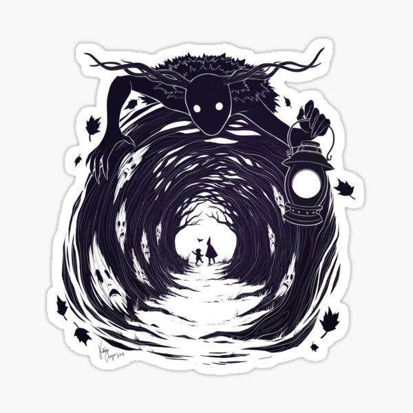 OtGW: Wenn du nachts in den Wald gehst ... Sticker