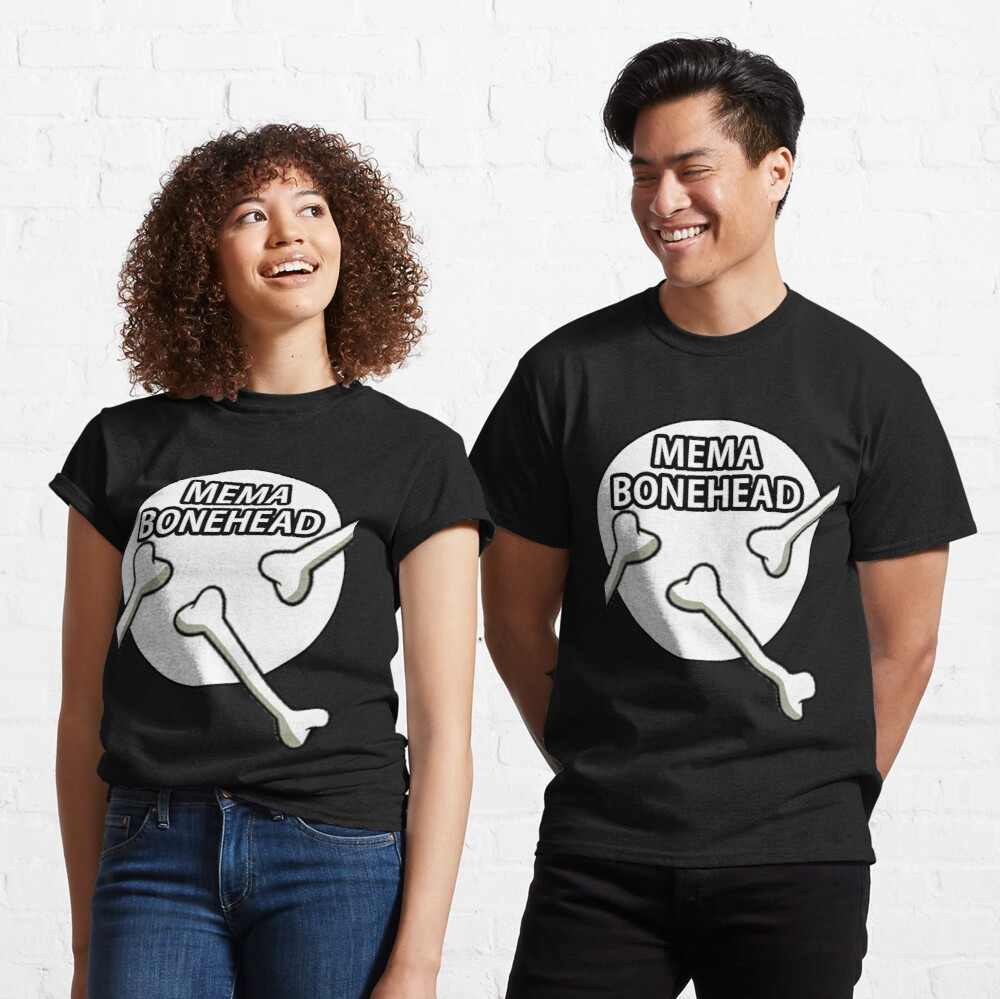 Mema Bonehead Design  Classic T-Shirt