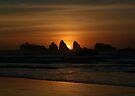 Orange Sunset by Dave Davis
