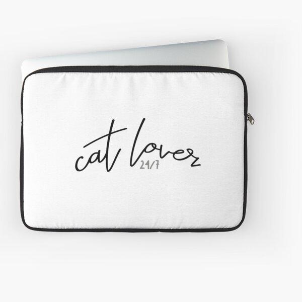 Cat lover 24/7 Laptop Sleeve