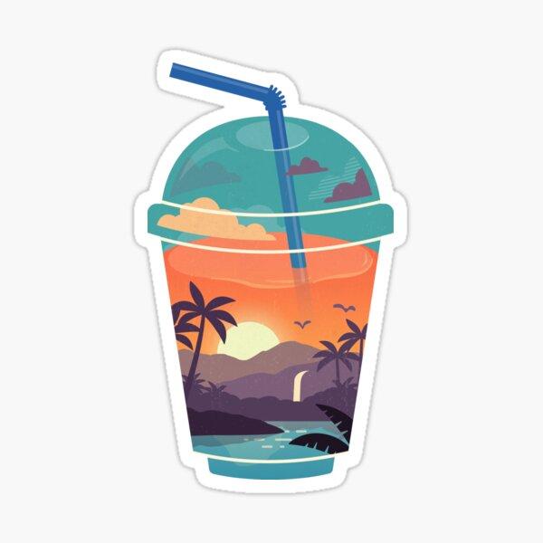 Smooth Tropics Sticker