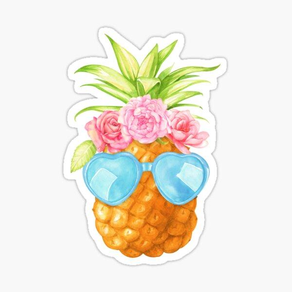 Ananas Sticker fini brillant
