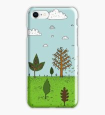 Leaves and Trees iPhone Case/Skin