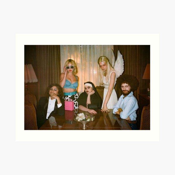 EUPHORIA HBO girl squad halloween Art Print