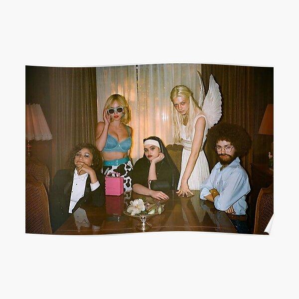 EUPHORIA HBO girl squad halloween Poster