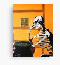 Need something to eat to put a little meat on my bones Canvas Print