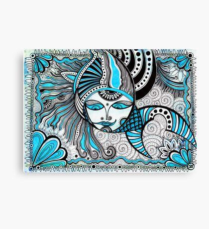 The Mermaid (original) Canvas Print