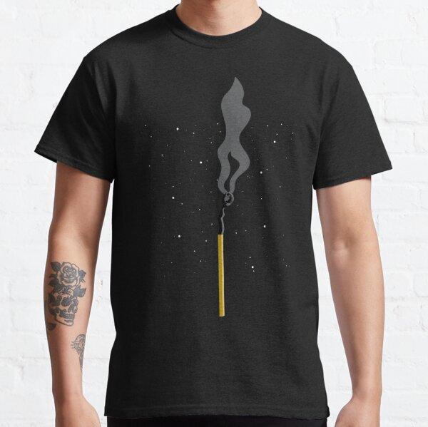 Burnt Match Stick Earth Classic T-Shirt