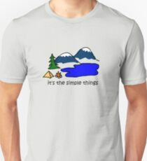 Camping - Simple Things Unisex T-Shirt